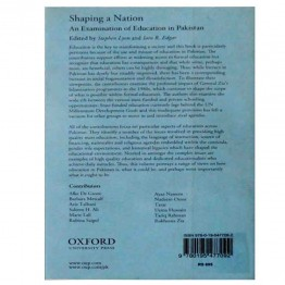 Shaping A Nation An Examination of Education in Pakistan