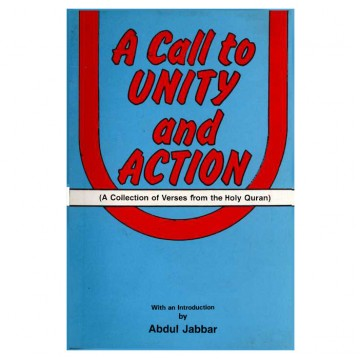 A Call To Unity And Action