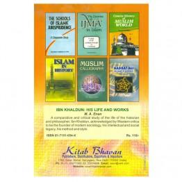 Ibn Khaldun His Life & Works