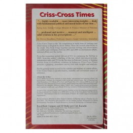 Criss-Cross Times Selected Writings about conflict and confluence, 2001-2009