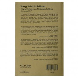 Energy Crises in Pakistan Origins, Challenges, and Sustainable Solutions