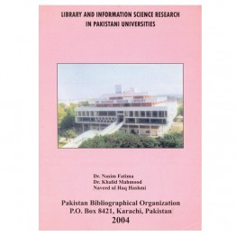Library and Information Science Research in Pakistani University